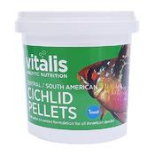 Pokarm Vitalis C/S American Cichlid Pellets XS 1mm [140g/280ml]