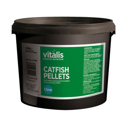 Pokarm Vitalis Catfish Pellets S 1.5mm [1.8kg] - dla ryb dennych