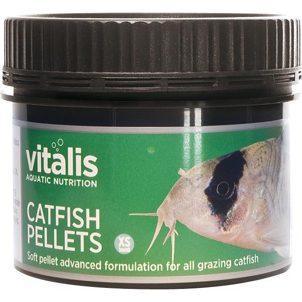 Pokarm Vitalis Catfish Pellets XS 1mm [60g/150ml] - dla ryb dennych