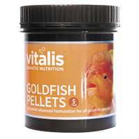 Pokarm Vitalis Goldfish Pellets S 1,5mm [60g/150ml] - dla złotych rybek