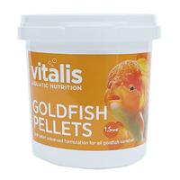 Pokarm Vitalis Goldfish Pellets S 1,5mm [70g/155ml] - dla złotych rybek