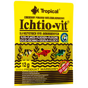 Pokarm w płatkach Ichtio-Vit [12g] - saszetka [74401]