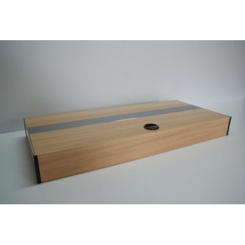 Pokrywa aluminiowa AQUASTEL prosta LED (100x40cm 2x24W) - wybierz kolor i wersję