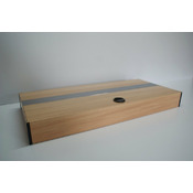 Pokrywa aluminiowa AQUASTEL prosta LED (60x30cm 2x13W) - wybierz kolor i wersję