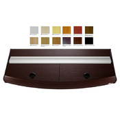 Pokrywa aluminiowa profil T8 (160x60cm 2x36W) - wybierz kolor