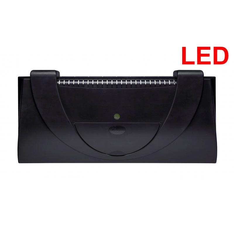 Pokrywa plastikowa Aristo prosta [80x35cm LED 17W] - czarna