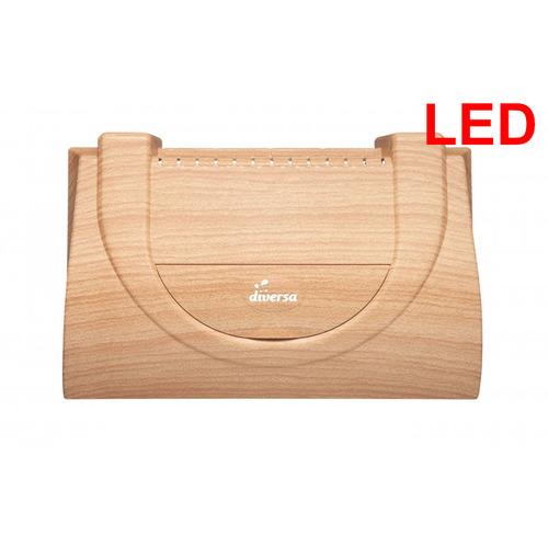 Pokrywa plastikowa Aristo prosta/profil [40x25cm LED 6W] - buk