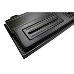 Pokrywa plastikowa Diversa Led Expert [100x40cm 1x24W] - czarna