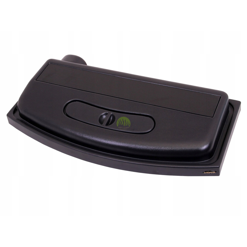 Pokrywa plastikowa profilowana Wromak [50x30cm 1x14W] - czarna