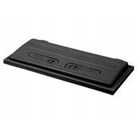 Pokrywa plastikowa prosta Wromak [100x40cm LED] - czarna