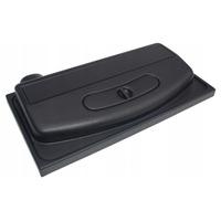 Pokrywa plastikowa prosta Wromak [50x30cm 1x14W] - czarna