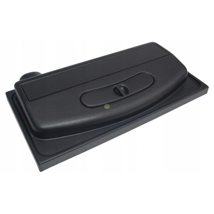 Pokrywa plastikowa prosta Wromak [60x30cm LED] - czarna