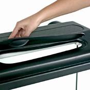 Pokrywa plastikowa Selecto prosta/profil [120x40cm 2x30W] - czarna