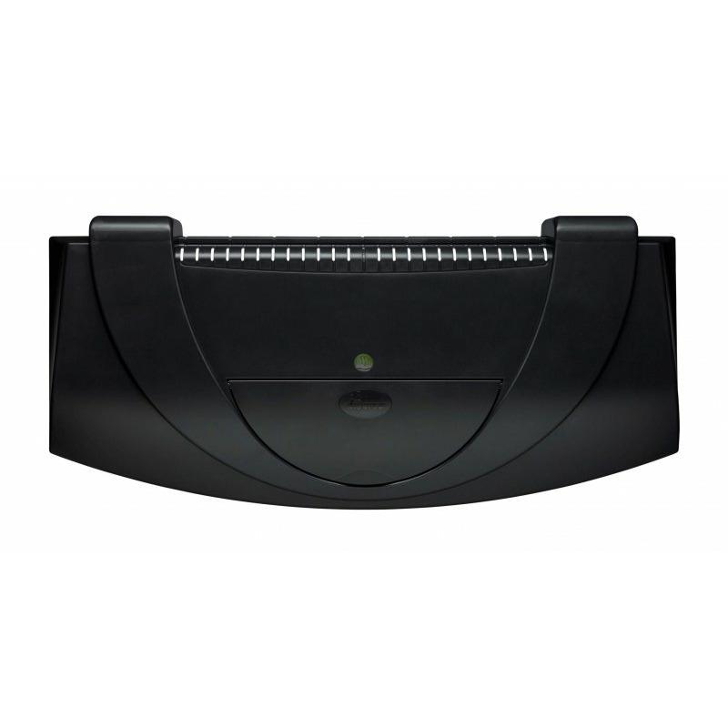 Pokrywa plastikowa T8 Aristo prosta/profil [80x35cm 2x18W] - czarna