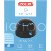 Pompa napowietrzająca Igloo 100 Zolux Aquaya - kolor czarny