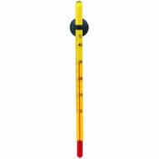 Precyzyjny termometr akwarystyczny [żółty]