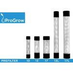 Prefiltr stalowy z siatką ProGrow 13mm [12/16mm]