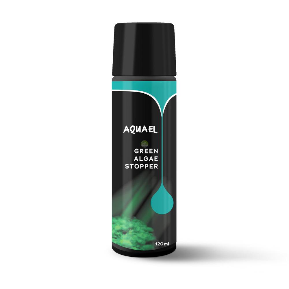 Preparat Aquael GREEN ALGAE STOPPER [120ml] - antyglon