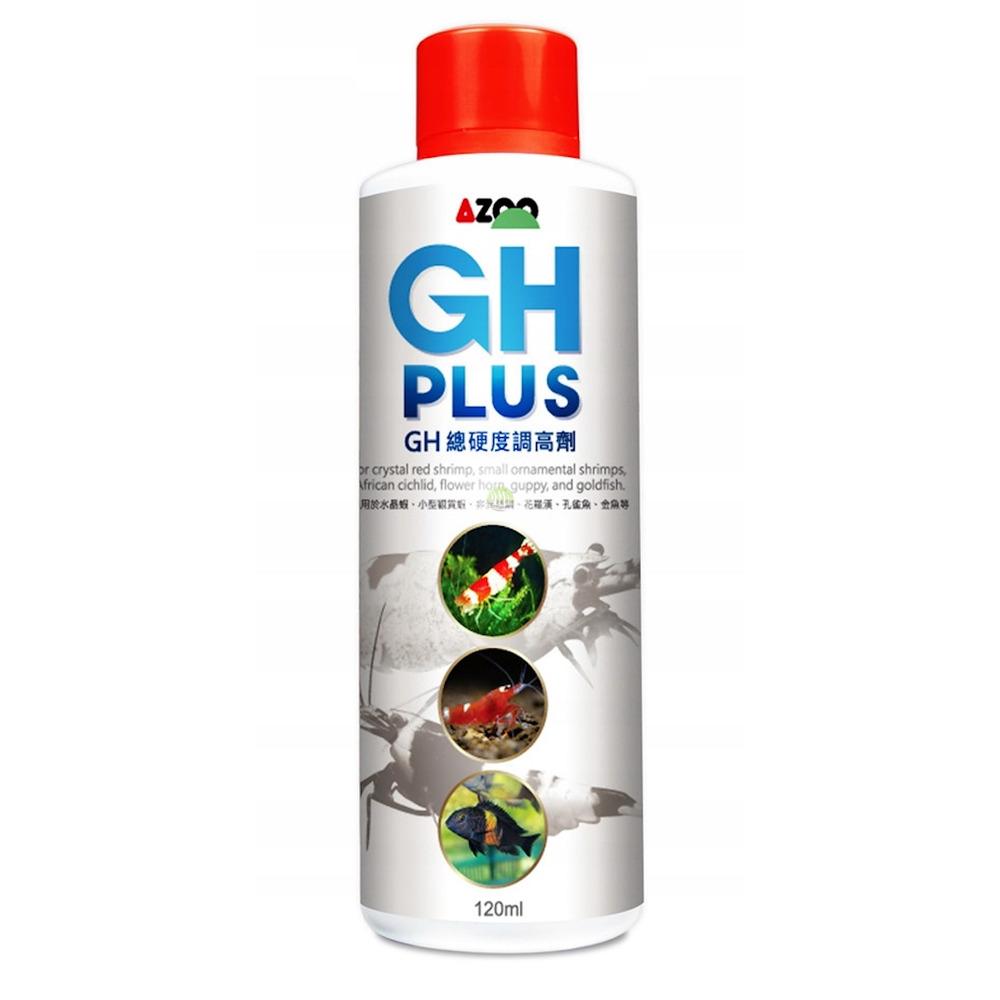 Preparat AZOO GH Plus [250ml] - podnosi twardość ogólną  dla krewetek Crystal RED
