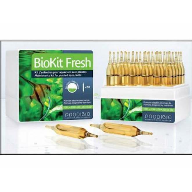 Prodibio BioKit Fresh 30 ampułek - Bakterie nitryfikacyjne, pierwiastki oraz nawóz dla roślin.