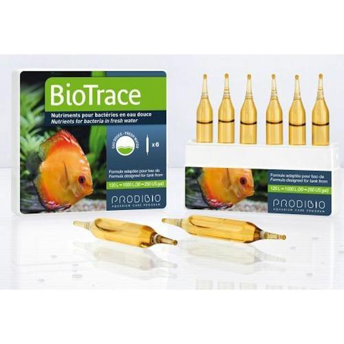 Prodibio BioTrace 6 ampułek - Pożywka dla bakterii oraz pierwiastki śladowe.