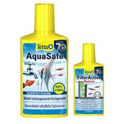 Promocja: Tetra AquaSafe [500ml] + Tetra FilterActive Bacteria [100ml] gratis