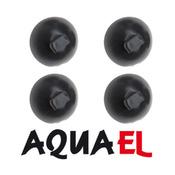 Przyssawki do filtra/grzałki Aquael [D=36mm, 100492] - 4 sztuki