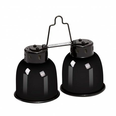 Repti-Zoo Podwójna Lampa na żarówki 2 x 40W