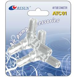 Resun ATC01 - trójnik na wężyk 6mm 2szt.