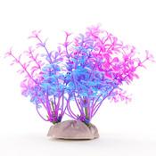 Roślina sztucza Yusee - drobnolistna niebieska (12-15cm)
