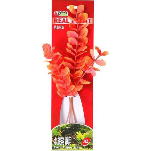 ROTALIA MARCANDRA(ORANGE) 12 [30cm] - Rośliny z miękkiego, tkanego materiału