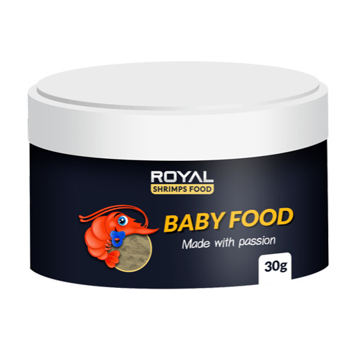 Royal Shrimps Food - Baby Food [30g]