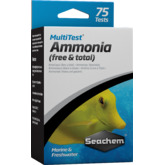 Seachem MultiTest Ammonia [75 testów] - test na amoniak