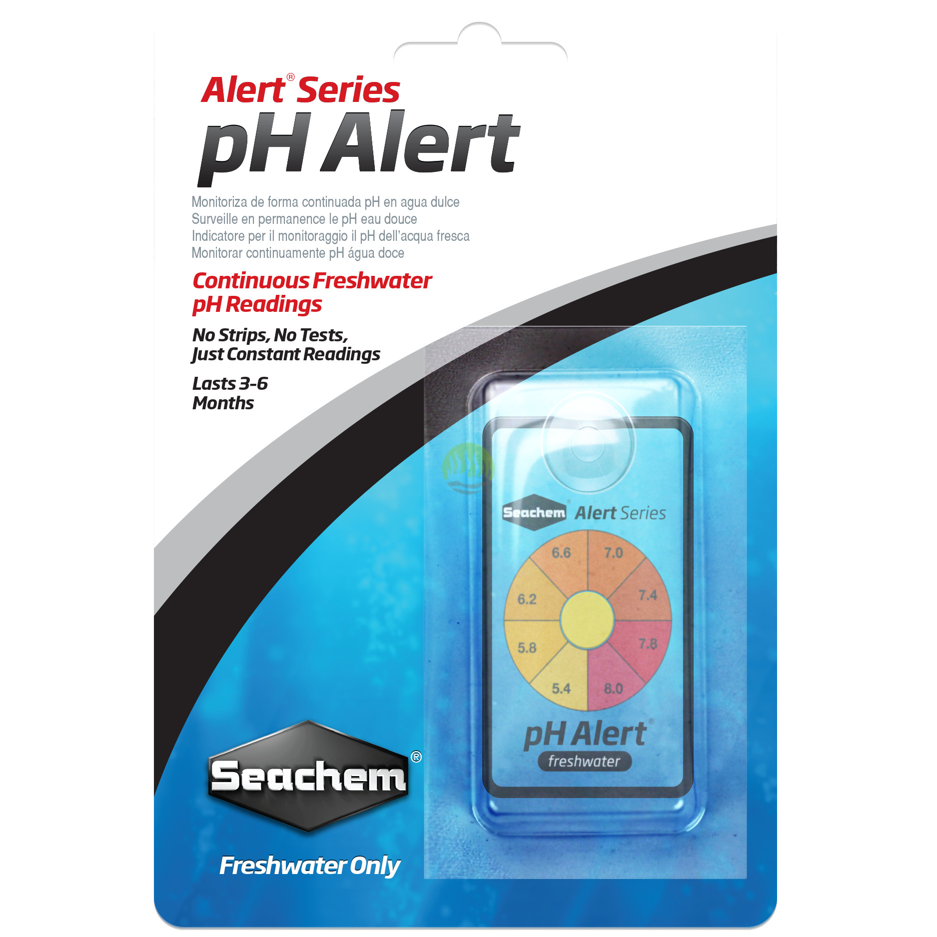 how to use seachem ph alert