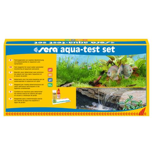 SERA aqua-test SET - zestaw 4 testów