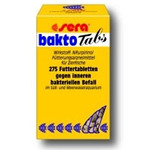 Sera bakto Tabs [275 tabl/100ml] - lek dla ryb