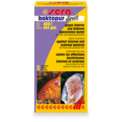 Sera baktopur direct / Sera baktoforte S  (8 tabletek) - środek antybakteryjny
