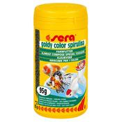 Sera goldy color spirulina [100ml] - pokarm dla złotych rybek