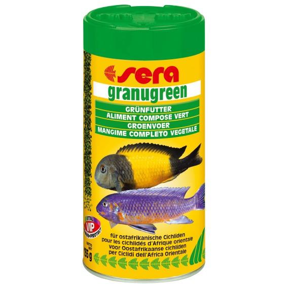 Sera granugreen [20g] - pokarm granulowany dla ryb