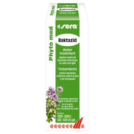 Sera Preparat Phyto med Baktazid [100ml] - lek na infekcje bakteryjne