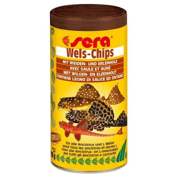 Sera Wels-Chips [250ml] - pokarm w postaci chipsów