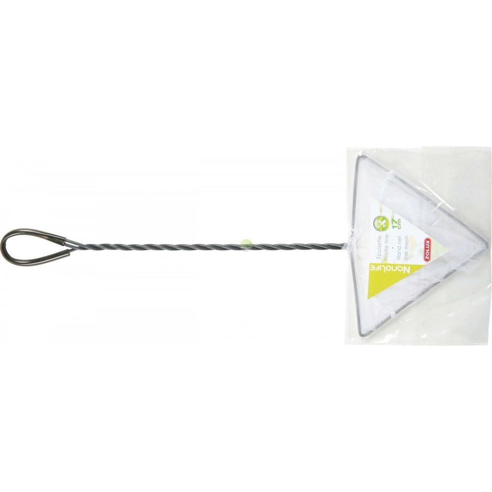 Siatka trójkątna ZOLUX [17 cm] - biała