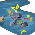 Skimmer pływający BOYU Magnetic Skimm 2500 [3000l/h]
