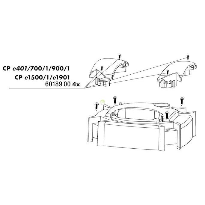 Śruby mocujące do JBL e700/e70/e900/e901/e1500/e1501/e1901 (6018900)