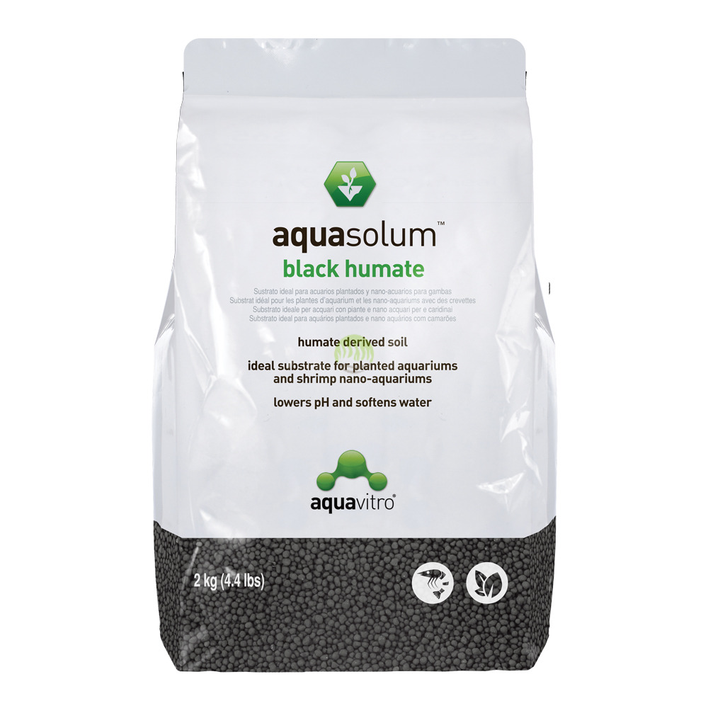 Substrat Aquavitro Aquasolum Black Humate [2kg] - podłoże aktywne