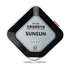 SunSun AC/DC AirPump - napowietrzacz na baterie i 220V