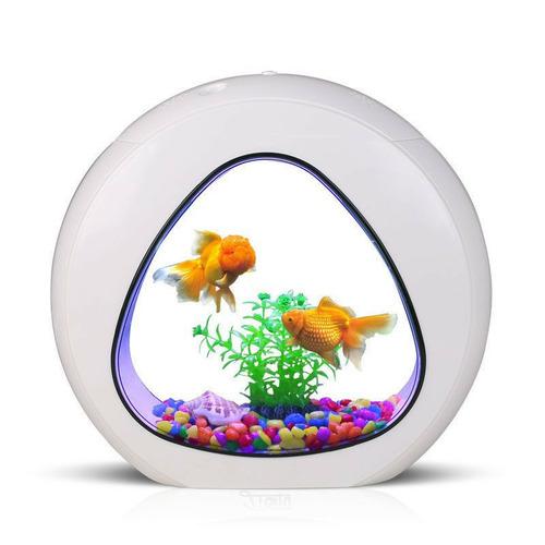 SunSun YA-02 - zestaw akwarium białe 6l