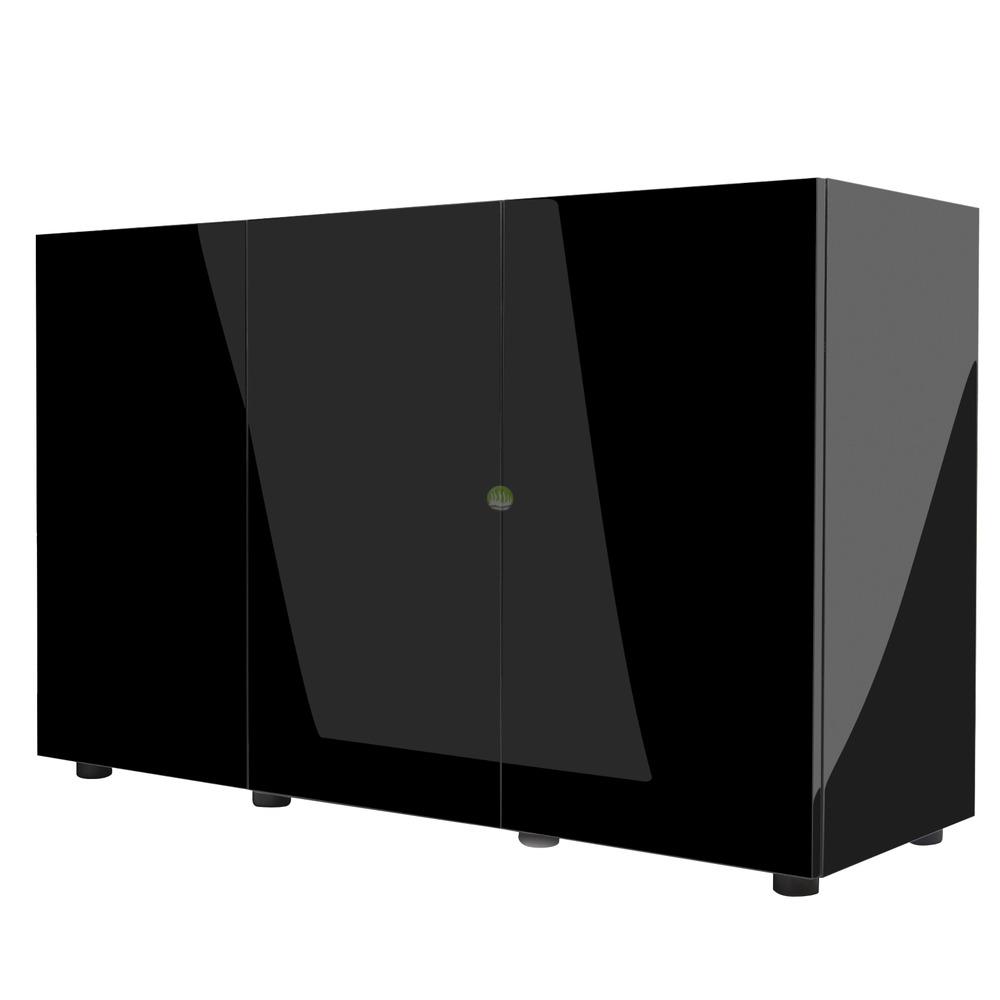 Szafka Aquael Glossy 120 ZD - czarna (odbiór osobisty)