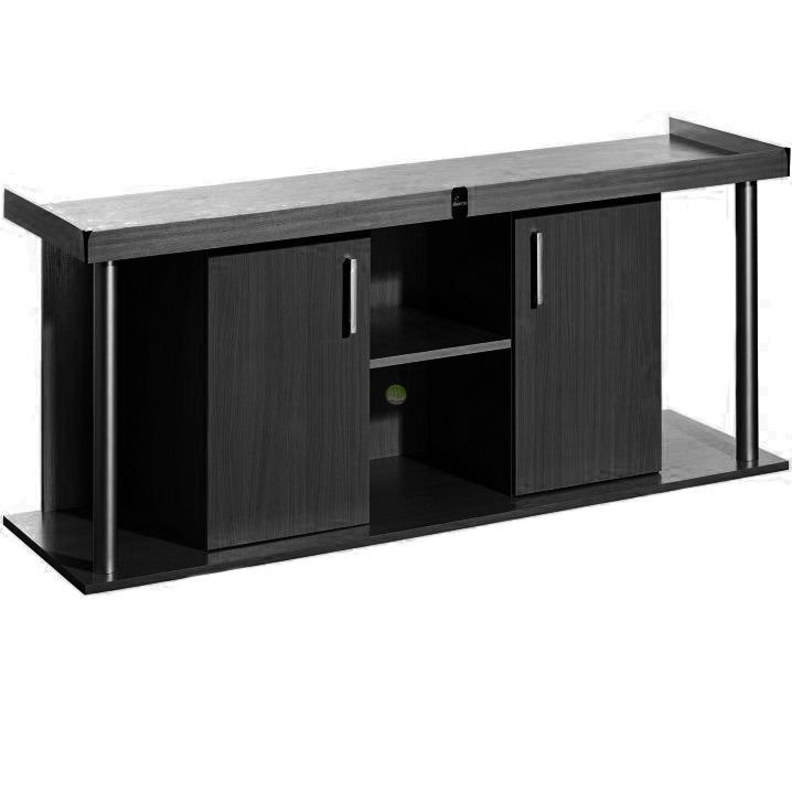 Szafka Comfort 200x80x67 prosta/profil - kolor czarny