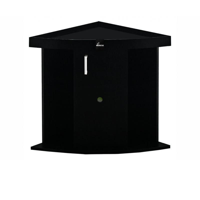 Szafka Comfort 72x72x67 TRIO - kolor czarny